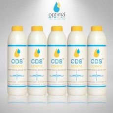 5 X CDS - SATURATED CHLORINE DIOXIDE SOLUTION - 350 ml