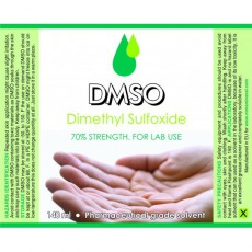 DMSO - DIMETHYL SULFOXIDE - 70% - 135ml